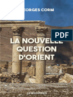 Corm, Georges - La nouvelle question d'Orient