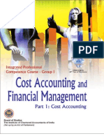 Cost Accounting & Financial Management Vol. I