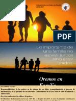 AGENDA PADRES DE FAMILIA