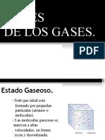 7° LEY DE LOS GASES IDEALES