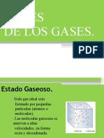 Clase N°7 LEY DE LOS GASES IDEALES