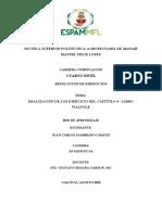 Estadisticas - Ejersicios Capitulo 4 Estadistica