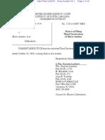 066-1 Third Declaration of Marci Andino