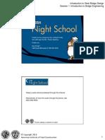 NSBA NIGHT SCHOOL COURSE B1 SESSION 1