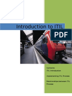 1. Introduction to ITIL