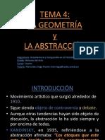 LA GEOMETRÍA Y LA ABSTRACCIÓN (PDF)
