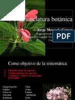 04 - Nomenclatura botánica