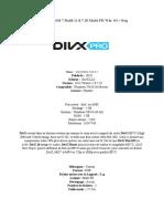 DivX Pro v10.8.7 Build 11.8.7.10 Multi-FR Win  64 + Reg