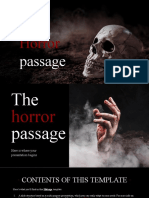 The Horror Passage