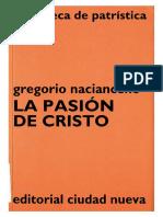 4. GREGORIO NACIANCENO - La pasion de Cristo.pdf