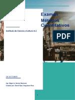 Examen Metodos cuantitativos