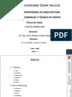 UCV- VENTAS- MURILLO CONTRERAS- PLAN DE MARKETING