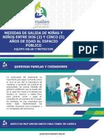 MEDIDAS PREVENTIVAS PARA LA SALIDA AL ESPACIO PUBLICO