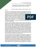 antropología de los conflictos humanos Chile