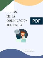 ETAPAS DE LA COMUNICÓN, FRANCISCO AGUILAR