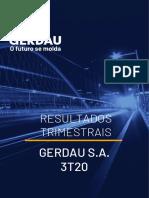 Demonstrativos Financeiros Do Resultado Da Gerdau Do 3t20