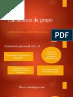 Estructuras de grupo