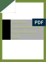 Combinar correspondencia en Microsoft Word 2010