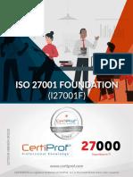 ISO 27001 CertiProf