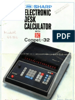 Sharp Compet 32 (German)