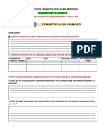 MI PRIMER PROYECTO DE EMPRENDIMIENTO  PARTE- XIV FLOR