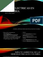 HIDROELECTRICAS EN COLOMBIA