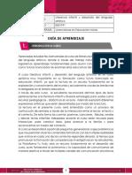 GUIA DE APRENDIZAJE -Literatura infantil y desarrollo del lenguaje artistico (1)