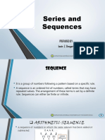 Series and Sequences -LESSON 3