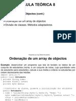 Aula 8 - Array de Objectos, Ordenaçao, Adaptadores.pdf