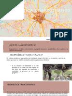 Geopolitica y Narcotrafico