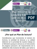 Ver Presentacón del Plan Nacional de Lectura y Escritura Leer es mi cuento