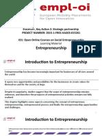 Module 1.  Entrepreneurship. slides. Nice