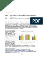New American Economy 4-City Comparison
