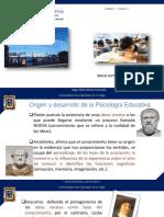 1. HISTORIA DE LA PSICOLOGÍA EDUCATIVA