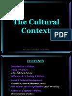 003 The Cultural Context