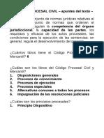 anotaciones procesal civil 2