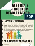 Pedagogía y curriculum democrático.pptx
