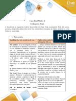 Anexo 5 Matriz 4 Fase final  Evaluación