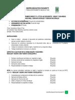 GUIA DE TRABAJO - INTEGRADO PRIMERO A Y B