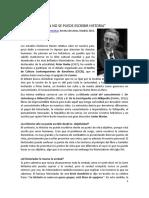 Peter Burke La imaginación histórica