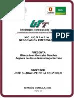 Negocicion Empresarial. LGNP. T.N