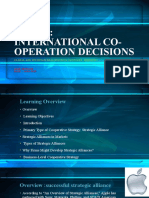 Lesson 3 International Cooperation Decision