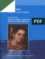 Mujeres en la Nueva España