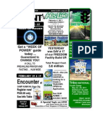 February 6 2011 Newsletter HALFVersion