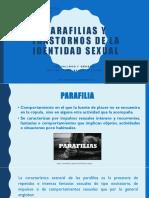 8.- Trastornos sexuales y de la identidad sexual según el DSM