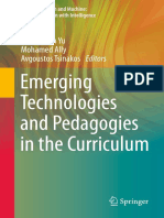 Yu, S., Ally, M., & Tsinakos, A. (Eds.). (2020). Emerging Technologies and Pedagogies in the Curriculum_Bridging Human and Machine_Future Education with Intelligence.pdf
