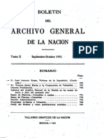 ARCHIVO GENERAL DE LA NACION BOLETIN 1931_N5
