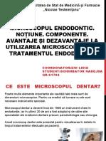 Microscopul in Endodontie