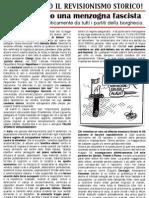 FalceMartello - Volantino sulle foibe