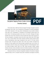 CASE Sengketa Dagang Rokok Kretek Indonesia Dengan Amerika Serikat